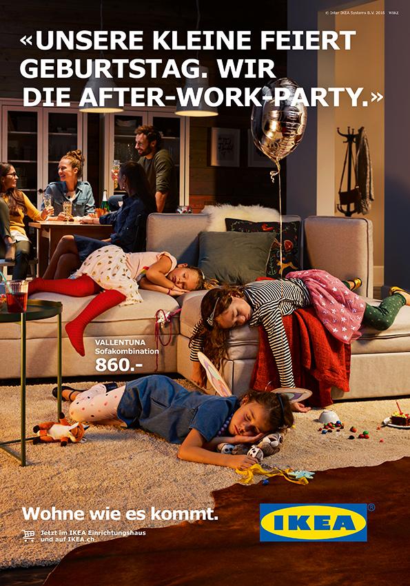 IKEA Schweiz Kampagne