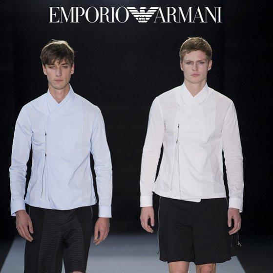 JONAS for Emporio Armani S/S 18