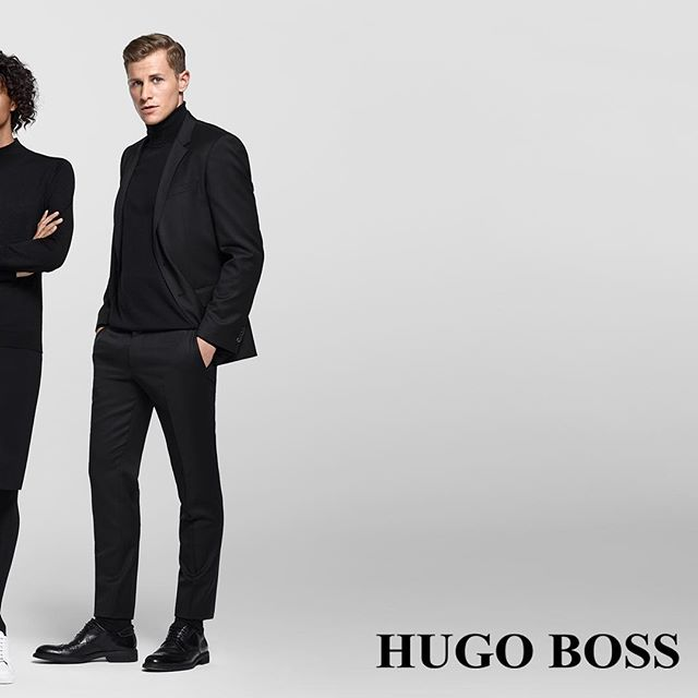 Our Models for HUGO BOSS TEAMWEAR