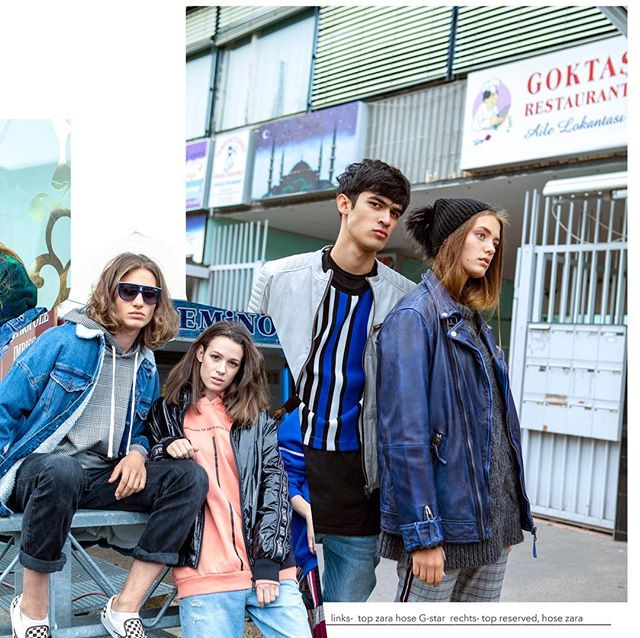 Streetstyle shooting with our new faces! 😎