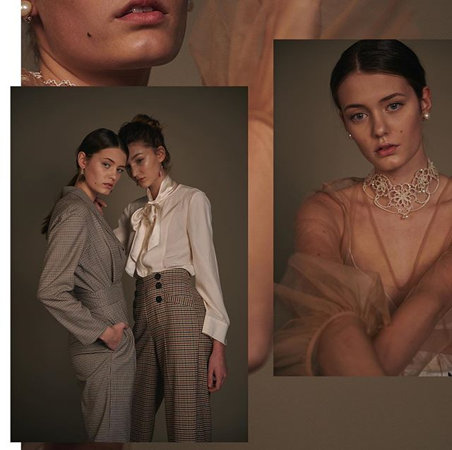 Linda & Yara in a new editorial of @sinahbruckner.