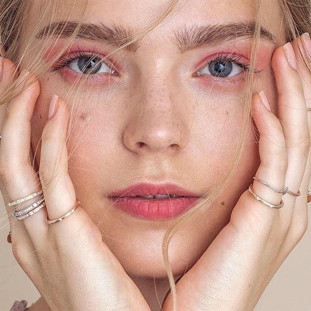 Beautiful @kim_rosendahl for Beauty Editorial x BGM jewellery 💎